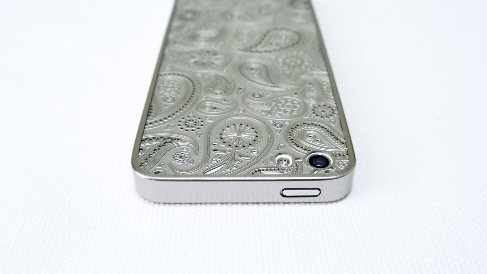 薄金 for iPhone5/5s ペイズリー